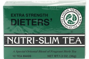 Dieters Nutri-Slim Tea (Extra Strength/ 12-ct) - 1.3oz