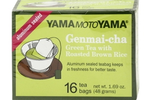 Genmai-Cha (Green Tea with Roasted Brown Rice / 16-ct)  - 1.69oz