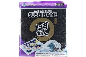 Sushihane (Roasted Seaweed Sheets) - 0.75oz