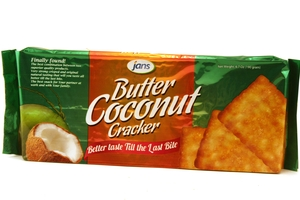 Butter Coconut Cracker - 6.7oz