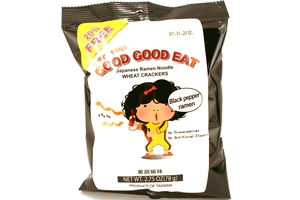 Good Good Eat (Wheat Cracker Black Pepper Flavor) - 2.75oz