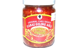 Sambal Cabai Giling Asli (Original Chili Sauce hot) - 8.8oz
