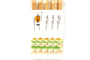 Waribashi Amime Shiragen (Disposable Chopsticks 20-pack)