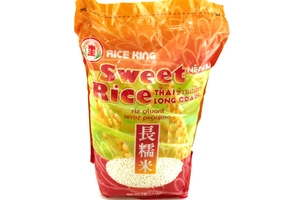 Sweet Rice Thai Long Grain (Arroz Peqajoso) - 4.4 lbs