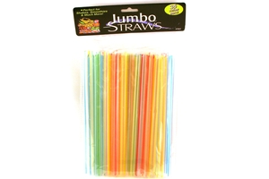 Jumbo Straws (Boba/Shakes/Smoothies Straws) - 36pcs/pack