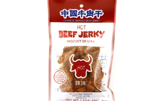 Beef Jerky (Hot Flavor) - 1.5oz
