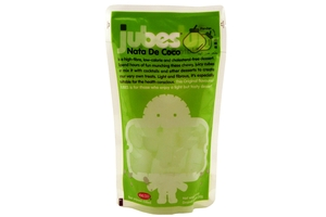 Jube Nata De Coco with 100% Coconut Water (Pandan Flavor) - 12.7oz
