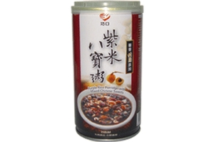 Purple Rice Porridge with Mixed Chinese Sweets - 12.45oz
