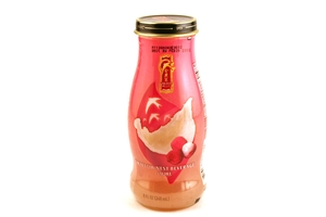 Swallow Nest Beverage Red Lychee flavor in 8fl oz (240ml) bottle