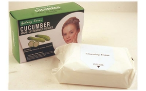 Make-Up Remover Tissue (Cucumber) - 24 sheets