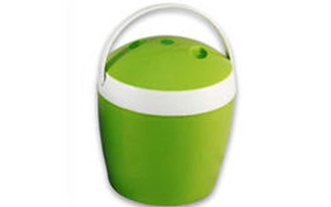 Ice Bucket with Handle (Green /1.5 ltr) - 6.75 inch High