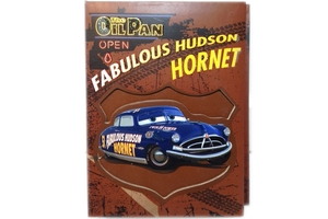 Cars Die-Cut Photo Album 4X6 (Hudson Hornet)