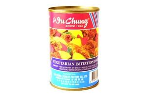 Vegetarian Imitation Sweet n Sour Pork (100% Vegetarian Dish) - 10oz
