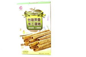 Egg Roll Cookies (Green Tea Flavor) - 5oz