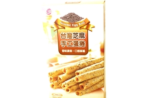 Egg Roll Cookies (Sesame Flavor) - 5oz