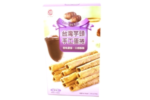 Egg Roll Cookies (Taro Flavor) - 5oz