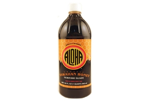 Hawaiian Honey Teriyaki Glaze (Organic) - 32fl oz