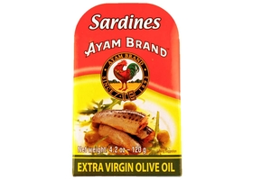 Sardines in Extra Virgin Olive Oil - 4.2oz
