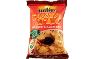 Cassava Chips (Mesquite Barbeque Flavor) - 3.5oz