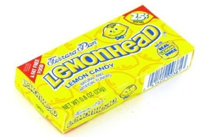 Lemonhead Lemon Candy - 0.8oz