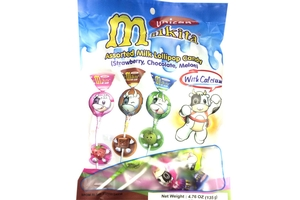 Milkita Assorted Milk Lollipop Candy - 4.76oz