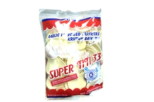 Krupuk Bawang (Garlic Flavored Crackers)  - 7oz