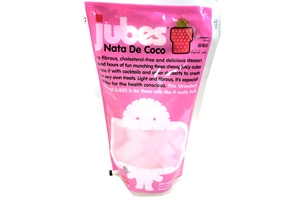 Jubes Nata de Coco (Strawberry Flavor) - 12.7oz