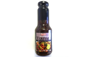 Teriyaki Black Pepper Sauce (For Marinate or Dip) - 12oz