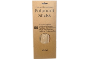 Potpourri Incense Sticks (Violet/60-ct)