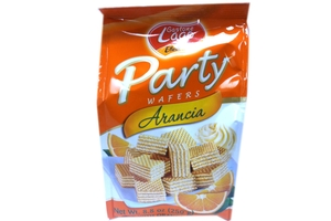 Party Wafers Arancia (Orange Cream) - 8.8oz