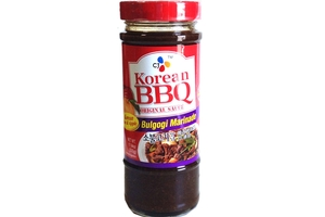 CJ Korean BBQ Original Sauce (Bulgogi Marinade) - 17.64oz [ 12 units ...