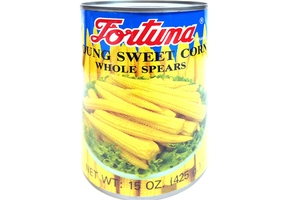 Young Sweet Corn (Whole Spears) - 15oz