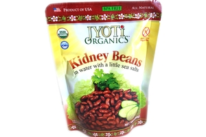 Kidney Beans in water with a little sea salt - 10oz