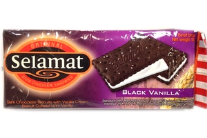 Dark Chocolate Biscuit (Black Vanilla) - 3.6oz