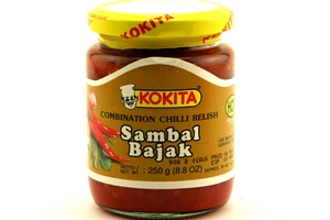 Sambal Bajak Hot (Combination Chilli Relish) - 8.8oz