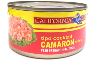 Tiny Cocktail Shrimp (Tipo Cocktail Camaron Chico) - 4oz