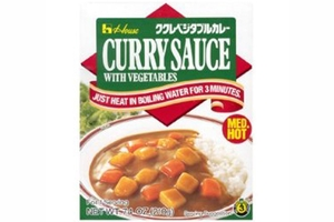 Curry Sauce with Vegetables (Medium Hot / Microwavable Pouch) - 7.4oz