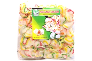 Kerupuk Bawang Pesta (Pesta Garlic Crackers) - 8.8oz