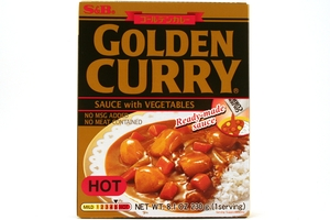 Golden Curry Sauce with Vegetable (Hot) - 8.1oz