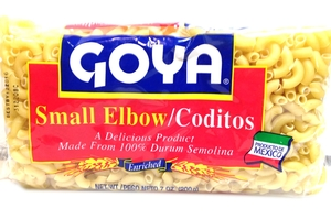 Coditos (Small Elbow Pasta) - 7oz