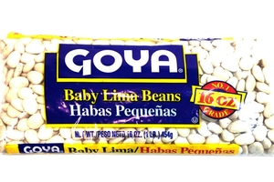 Habas Pequenas (Baby Lima Beans) - 16oz