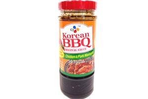 CJ Korean BBQ Original Sauce (Chicken & Pork Marinade) - 16.93oz ...