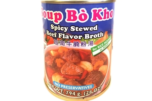 Soup Bo Kho (Spicy Stewed Beef Flavor Broth For Rice Noodle Soup) - 28oz