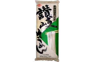 Sanuki Somen (Japanese Wheat Noodles / 5-ct) - 17.65oz