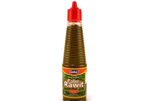 Saus Sambal Cabe Rawit (Hot Green Chili Sauce) -  4.94oz