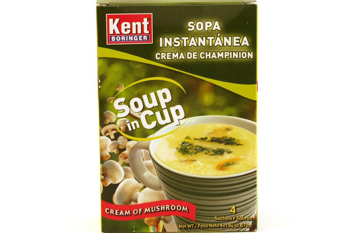 Mushroom Soup Instant Mushroom Soup Sopa Instantanea Crema De