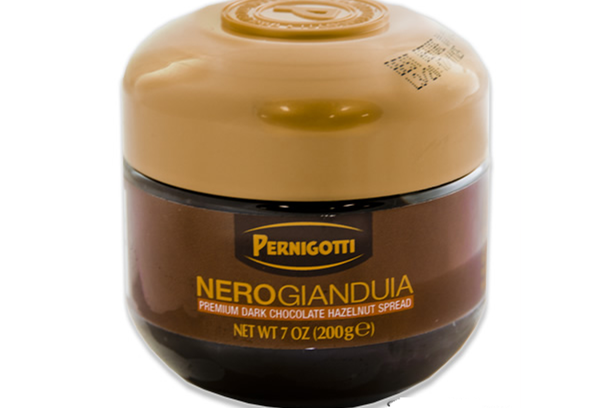 Nerogianduia (Premium Dark Chocolate Hazelnut Spread) - 7oz's Gallery: efooddepot.com/products/images/pernigotti/66080/pernigotti...
