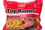 Buy Top Ramen Instant Noodle Soup (Beef Flavor) - 3oz