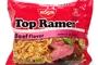 Top Ramen Instant Noodle Soup (Beef Flavor) - 3oz