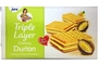 Buy Triple Layers Crackers (Durian Cream Flavor) - 5.7oz